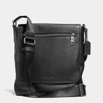 Black Sullivan Small Messenger - 8.24