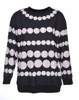 Boutique Moschino Bauble Print Top