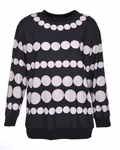 Boutique Moschino Bauble Print Top - 7.24