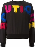 BOUTIQUE MOSCHINO Logo Print Sweatshirt - 7.26