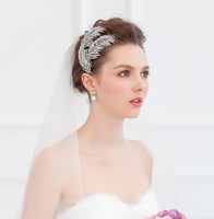 Bridal Feather Headpieces FF1052