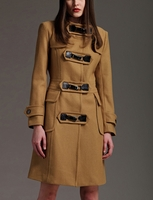 Buckled Toggle Wool Coat (On Sale)