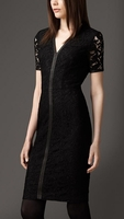 London Lace Detail Dress