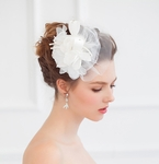 Chiffon Flower Headpiece FF1053