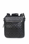 Bleecker Large Flight Bag in Op Art Embossed Leather