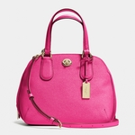 Coach Prince Street Mini Satchel In Crossgrain Leather - 4.21