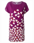 Diane von Furstenberg Floral Harriet Silk Tunic Dress - 5.2