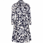 DIANE VON FURSTENBERG Jadrian cotton wrap dress - 5.9