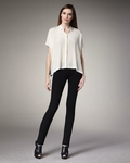 DKNY Jeans Black Skinny Pants (On Sale)
