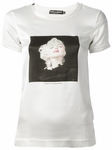 White Marilyn Monroe Print T-Shirt (On Sale)
