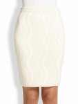 DVF Chenille Pencil Skirt - 4.19