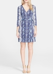 DVF Heritage New Julian Two Mini Silk Jersey Wrap Dress - 5.9