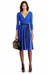 DVF Seduction Wool Wrap Dress - 9.18