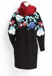 Embroidery Knit Dress - 10.22