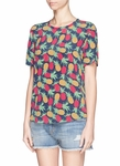 Equipment 'Riley' Pineapple Print T-Shirt - 1.14