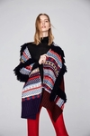 Fair Isle Wool Cashmere Patchwork Scarf