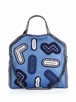 Falabella Adorned Denim Tote