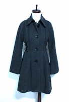 Flared Wool Coat