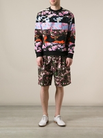 Floral Graphic Print Shorts