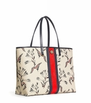 Floral Kerrington Stripe Square Tote - 7.21