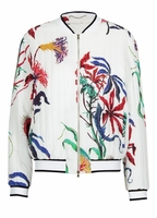 FLOWER BLOUSON JACKET