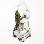 Foulard-print One Piece Swimsuit - 4.5