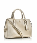Gold Robinson Micro Double Zip Satchel - 4.19