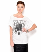 Graphic Print T-Shirt- Made in Italy