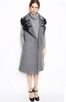 Gray Selvi Sleeveless Coat - 10.22