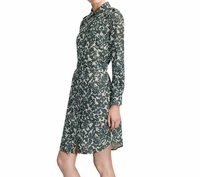 Green Brigitte Shirt Dress
