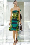 Green Kneelength Dress