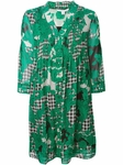 Green Layla Chiffon Tunic Dress - 4.12
