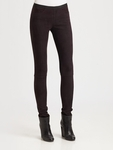 Helmut Lang Embossed Leather Leggings - 4.10