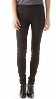 Helmut Lang Embossed Leather Leggings