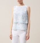 Hobbs Blue Kora Top