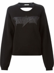 ICEBERG sheer back logo sweatshirt - 5.22