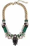 J.CREW Crystal encrusted collar necklace