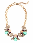 J.CREW Gold Honeybee Necklace