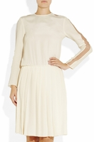 Joseph Beige Zola Brushed Silk Dress