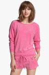 JUICY COUTURE Pink Crewneck Sweatshirt