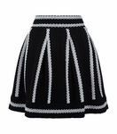 JULANE Jacquard knit short skirt - 4.16
