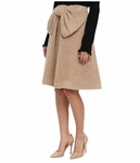 Kate Spade Beige Lee Bow Skirt - 5.3