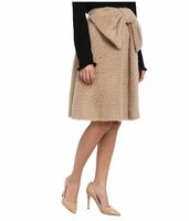 Kate Spade Beige Lee Bow Skirt