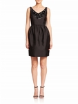 Kate Spade Black Embellished Cupcake Dress - 9.9
