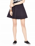 Kate Spade Black Scuba Circle Skirt - 5.1