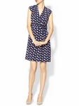 Kate Spade Blue Villa Silk Dress - 5.4