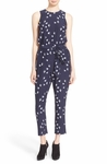 Kate Spade Blue Winter Swallow Jumpsuit - 5.1