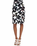 kate spade butterfly pencil skirt