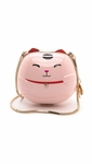 Kate Spade Hello Tokyo Lucky Cat Minaudiere Pink - 2.1