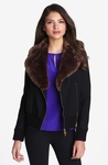kate spade new york trina faux fur wool jacket